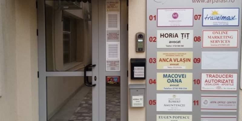 Birou 17 mp in Centrul Civic in spatele Judecatoriei IS