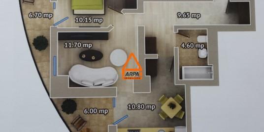 Apartament Nou 2 cam. – 61 mp, Bloc Nou-Centru,Palas