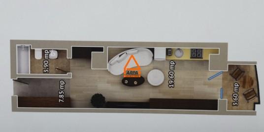 Apartament Nou 1 cam. – 38 mp, Bloc Nou-Centru,Palas