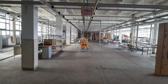 Hala / Spatiu – 1350 mp, productie , depozitare – Semicentral