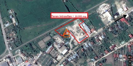 Teren intravilan – 10.995 mp – Negresti , Vaslui