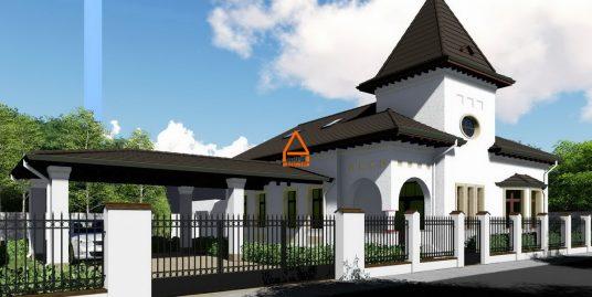 Vila / Casa de lux – 230 mp , 600 mp teren – Zona Rezidentiala – Copou