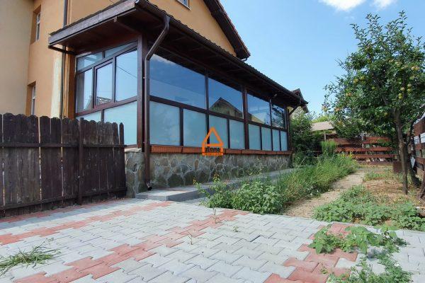 Apartament D+P – 3 camere – 110 mp , 167 mp teren ( gradina ) – Bucium